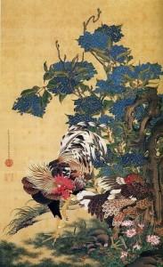 伊藤若冲鶏画像2