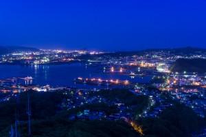室蘭港夜景